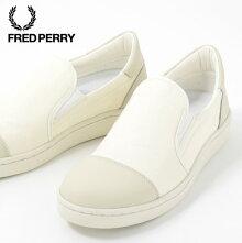 フレッドペリーFredPerryスニーカーシューズリリLiliミリタリーキャンバスホワイト撥水加工日本製メンズレディース靴プレゼントギフト