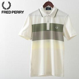 フレッドペリー メンズ ポロシャツ ポロ Fred Perry メッシュ パネル テニス リイシュー 20SS 新作 エクルー 正規販売店