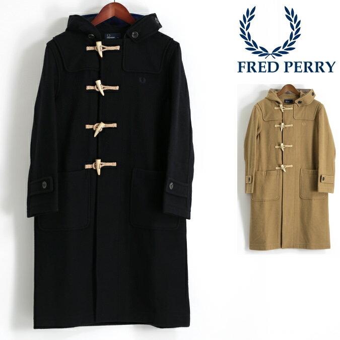 Fセール フレッドペリー Fred Perry ダッフルコート ウール 2色 キャメル ダークネイビー 正規販売店 メンズ MONTGOMERY モンゴメリー プレゼント ギフト