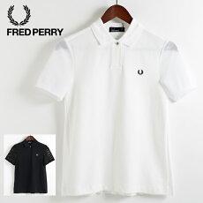 フレッドペリーレディースポロシャツポロプリーツバックピケ鹿の子18SS新作ネイビーホワイトFredPerry正規品プレゼントギフト