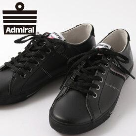 SALE セール ! Admiral レディース スニーカー アドミラル ワトフォード WATFORD シューズ 定番 ベーシックカラー ブラック メンズ ギフト プレゼント