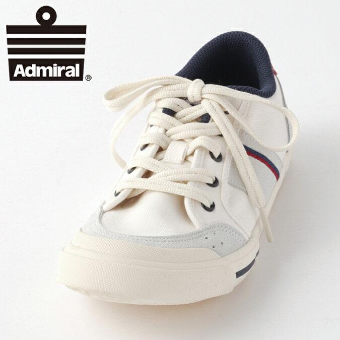 Admiral アドミラル スニーカー レディース メンズ イノマー INOMER 18SS 新作 シューズ ローカット アイボリーネイビーレッド ギフト プレゼント