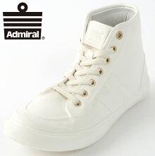AdmiralメンズスニーカーアドミラルイノマーハイINOMERHIWP19AW新作シューズハイカットレインブーツホワイトゴールドレディースギフトプレゼント