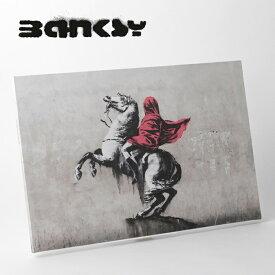"""SALE セール ! BANKSY CANVAS ART キャンバスアートパネル ポスター """"Napoleon"""" 60cm × 40cm バンクシー ナポレオン 【送料無料】 ギフト"""