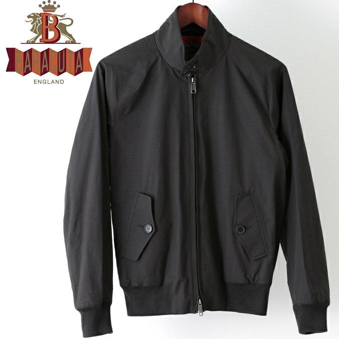 Fセール バラクータ Baracuta G9 オリジナル ハリントンジャケット フェイデドブラック 英国製 スイングトップ ブルゾン ギフト