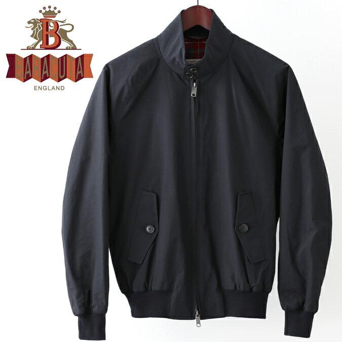 Fセール バラクータ G9 オリジナル ハリントンジャケット ダークネイビー XS/34〜XXL/44まで 英国製 メンズ リブ スイングトップ ブルゾン 上着