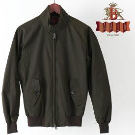 バラクータ G9 オリジナル ハリントンジャケット チェスナット 英国製 メンズ リブ スイングトップ ブルゾン 上着