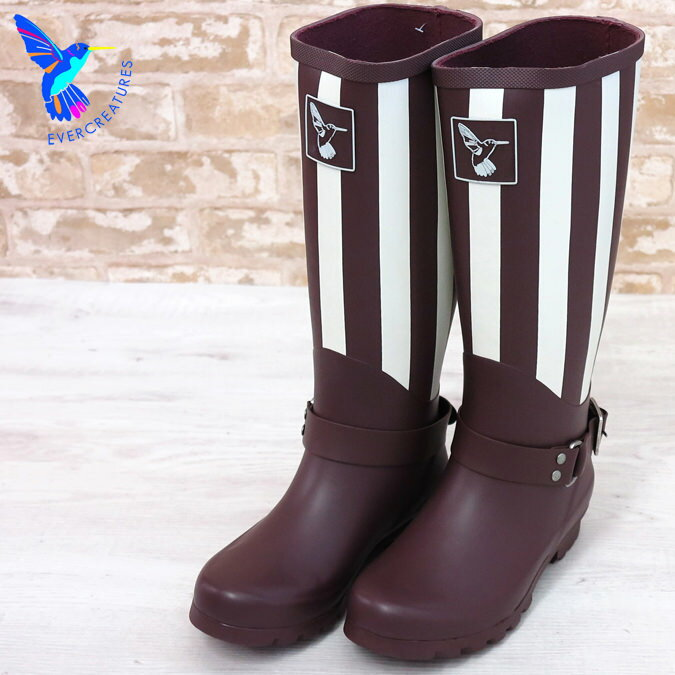 Evercreatures エバークリエイチャー レインブーツ 長靴 ニューヨーク UKデザイン レディース 女性 プレゼント ギフト
