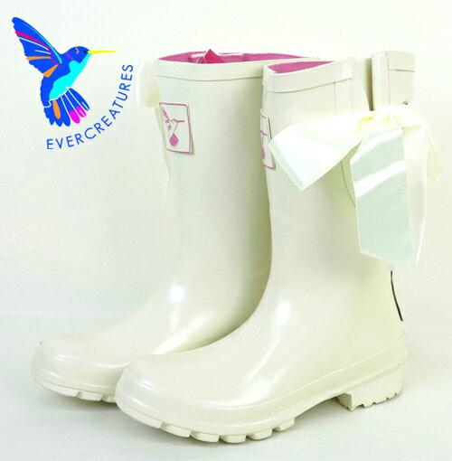 Evercreatures レインブーツ 長靴 【送料無料】 UKデザイン アイドゥ ショート レディース プレゼント ギフト