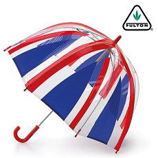 FULTONフルトン傘アンブレラファンブレラ4【送料無料】英国王室御用達新作ユニオンジャックUnionJackトリコロールキッズKids子供FunbrellaUmbrellaかさスリムモッズファッションイギリスロンドンfultonc605unionjack