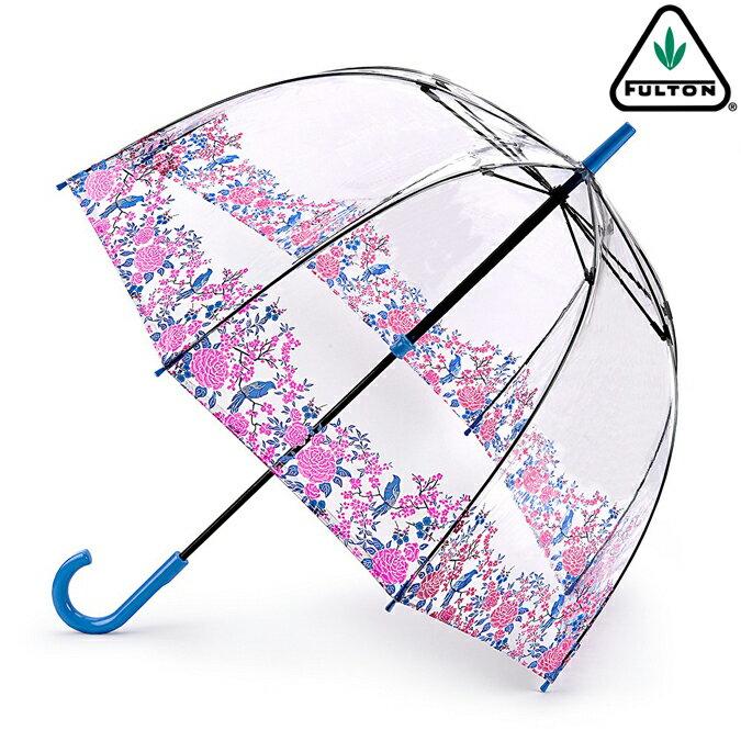 FULTON フルトン 傘 バードケージ ブロッサムバード 長傘 花柄 正規 レディース かさ プレゼント ギフト