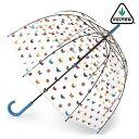 FULTON 傘 レディース バードケージ イングリッシュガーデン 長傘 フルトン フラワー フローラル 花 蝶 バタフライ 正規 かさ プレゼン…