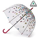 フルトン FULTON 傘 バードケージ レイニング バタフライ 長傘 花柄 レディース 正規 かさ プレゼント ギフト