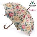 キャスキッドソン 傘 Cath Kidston x FULTON フルトン ケンジントン フォレスト ローズ トープ 花柄 レディース Kensington 長傘 女性…
