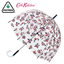 FULTON×CATHKIDSTON傘レディースバードケージダスクフローラルキャスキッドソンフルトン長傘花柄フローラルフラワーボタニカルかさギフトトラッド