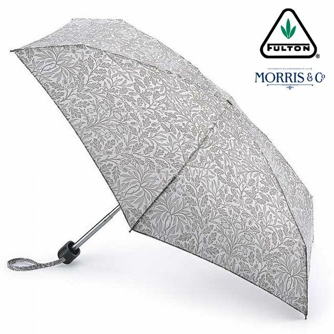 ウィリアム モリス エイコーン FULTON x Morris 傘 フルトン 花柄 傘 折りたたみ傘 タイニー Tiny 英国王室御用達 レディース