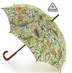 フルトンFULTON傘かさアンブレラGoldenLilyウイリアムモリス長傘【送料無料】英国王室御用達新作Romaクラシックブラウンフラワー花柄レディースWilliamMorrisUmbrellaかさモッズファッションイギリスロンドンfultonl715goldenlily