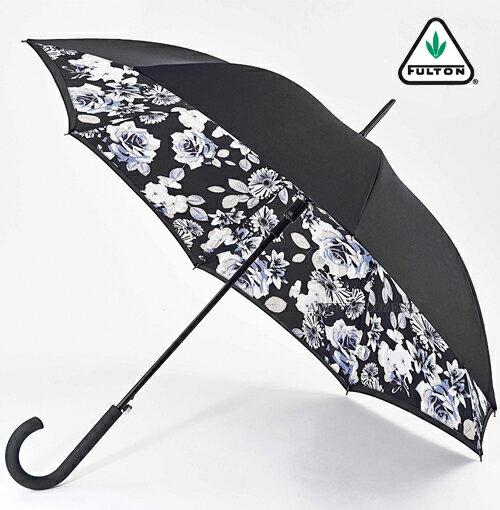 フルトン FULTON 傘 レディース Bloomsbury 長傘 女性用 正規 かさ モノフローラル プレゼント ギフト ジャンプ傘
