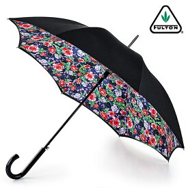 フルトン FULTON 傘 レディース Bloomsbury 長傘 女性用 正規 かさ ローズガーデン プレゼント ギフト ジャンプ傘