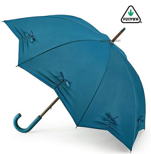 【傘 レディース】フルトン FULTON Kensington Teal スター 星 青緑 正規 長傘 フルトン 傘 レディース おしゃれ 英国王室御用達 傘 レディース プレゼント ギフト