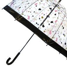 Fulton傘バードケージクリスタルブラック長傘ブランドレディースプレゼントギフト