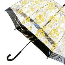 Fulton傘バードケージレースブラック花柄長傘ブランドレディースプレゼントギフト