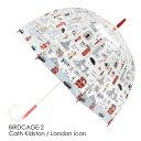 FULTON × CATH KIDSTON 傘 レディース バードケージ ロンドンアイコン キャスキッドソン フルトン 長傘 かさ プレゼ…