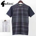Gabicci メンズ Tシャツ ジオライン ドット ガビッチ 20SS 新作 2色 ネイビー ホワイト レトロ モッズファッション プレゼント ギフト