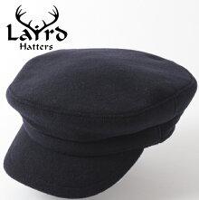 LairdHattersメンズマリンキャップ英国製ウールキャップマリナー19AW新作レアードハッターMariner帽子イギリス製キャップハンドメイドネイビーキルティングレディース紳士プレゼントギフト