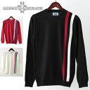 セール SALE Madcap England メンズ ニットセーター クルーネック マッドキャップ 3色 ブラック レッド ホワイト ギフ…