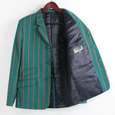 MadcapEnglandブレザージャケット18SS新作ストライプテーラードボーティングマッドキャップティールレッドメンズプレゼントギフト