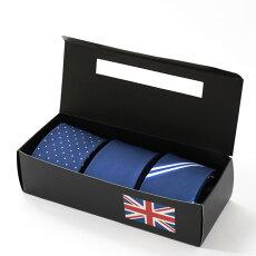 シルクネクタイQuitRunning3本セットハンドメイドクイトランニング新作ドットストライプ無地ネイビーメンズポップロック英国ブランド男性プレゼントギフト就職祝い卒業式