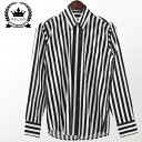 RELCO レルコ シャツ ストライプ シャツ レトロ 長袖 シャツ メンズ モッズファッション シャツ メンズ プレゼント ギフト