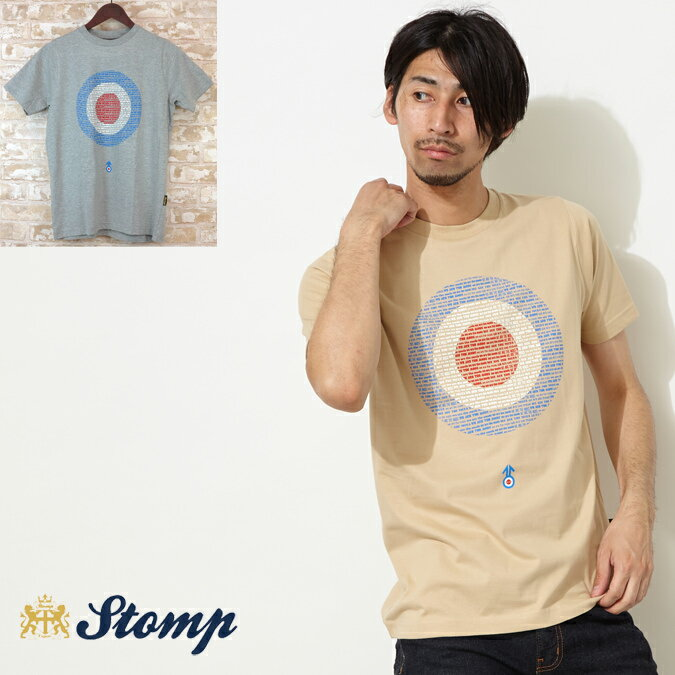 OFFセール ストンプ Stomp Tシャツ ターゲットマーク We are Mods Target 2色 メンズ プレゼント ギフト