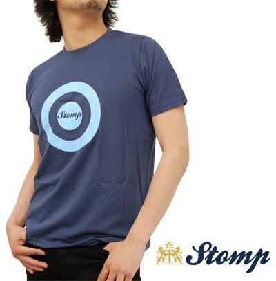 OFFセール ストンプ Stomp Tシャツ T シャツ ターゲット マーク Stomp Target ネイビー Navy コットン UK モッズ scm005navy *l プレゼント ギフト