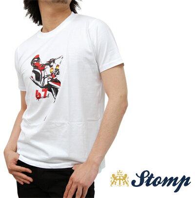 セール ストンプ Stomp Tシャツ T シャツ 67 Special モッズスクーター ホワイト White コットン UK モッズ scm013white *m *l プレゼント ギフト