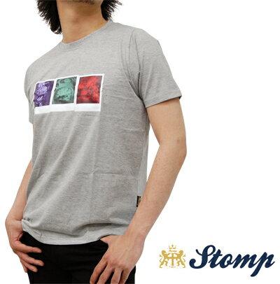 セール ストンプ Stomp Tシャツ T シャツ モッズスクーター Scooter Poladoids ポラロイド グレー マール Grey Marl UK モッズ scm028greymarl *s *m プレゼント ギフト
