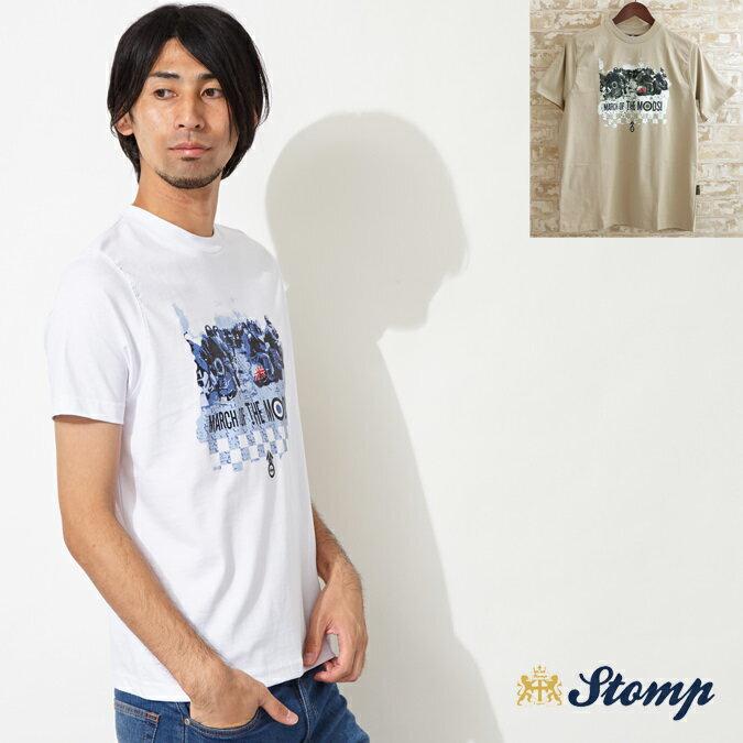 セール ストンプ Stomp Tシャツ T シャツ March Of The Mods 2色 メンズ モッズファッション プレゼント ギフト 父の日