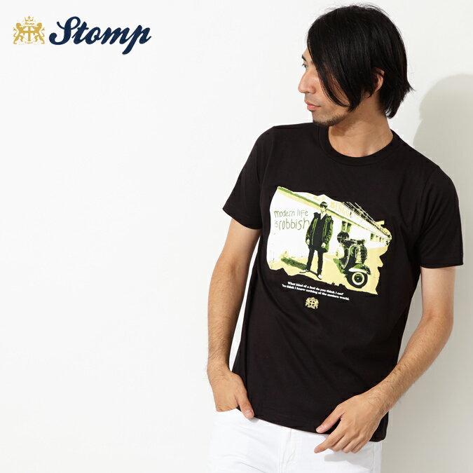 セール ストンプ Stomp Tシャツ New Modern Life ブラック メンズ モッズファッション プレゼント ギフト