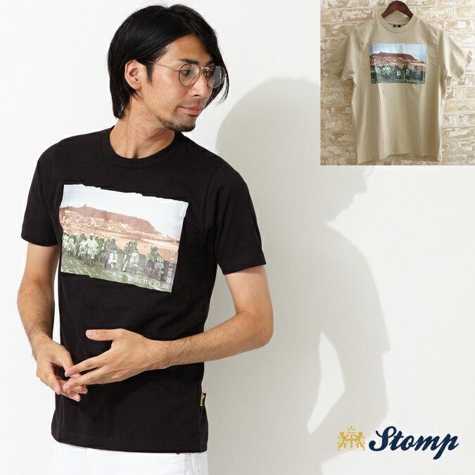 セール ストンプ Stomp Tシャツ ビサイド ザ シーサイド メンズ モッズファッション プレゼント ギフト 父の日