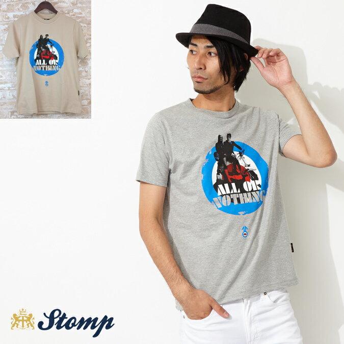 セール ストンプ Tシャツ Stomp All or Nothing 2色 メンズ プレゼント ギフト 父の日