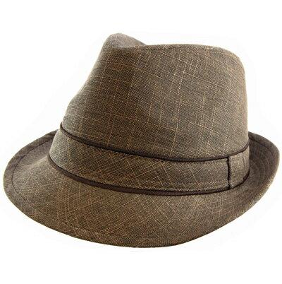 ATLANTIS アトランティス ハット 帽子 メンズ 【送料無料】 PLEASURE TABACCO ブラウン Brown モッズ インディーズ Hat コットン タバコ pleata プレゼント ギフト