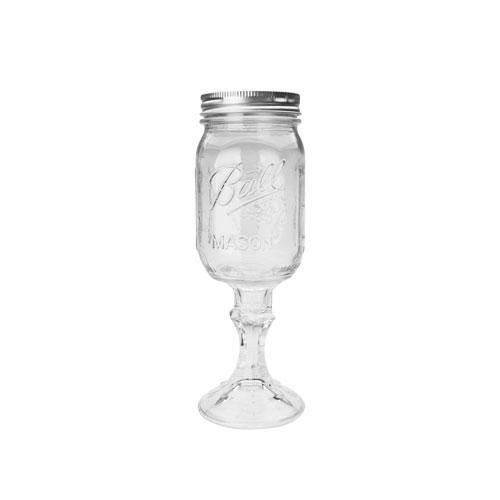 """[692-633]レッドネック """"ワイングラスクリアー"""""""