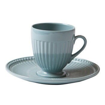 BORGODELLETOVAGLIE(ボルゴ)コーヒーカップブルーセージ