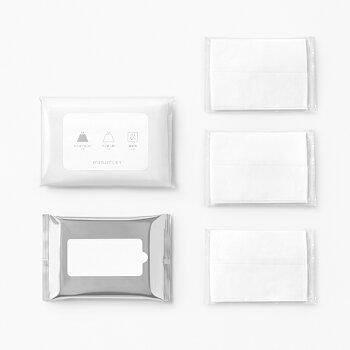 杉田エースACEminimLETミニムレット簡易トイレ用付属品セット(凝固剤、排便袋、持ち運び袋、ポケットティッシュ、ウエットティッシュ)