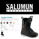 14-15 SALOMON TRIUMPH LEATHER/14-15 TRIUMPH LEATHER/14-15 トライアンフ レザー/14-15 SALOM...