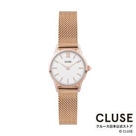 【日本正規品】クルース 時計 / CLUSE 日本総代理店 公式ストア ラ・ヴェデット メッシュ ローズゴールド ホワイト / ローズゴールド 正規品 レディース 腕時計ポイント10倍