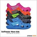 crocs kids【クロックスキッズ】 Swiftwater Wave kids / スイフトウォーター ウェーブ キッズ※※