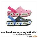 crocs kids【クロックスキッズ】Crocband Mickey Clog 4.0 Kids / クロックバンド ミッキ— クロッグ 4.0 キッズ ※※...