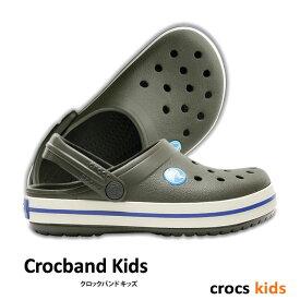 【3,000円Offクーポン配布中】▼-50%OFF CROCS【クロックス】Crocband Kids / クロックバンド キッズ| ケイマン サンダル ビーサン